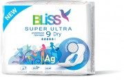 "0317 Прокладки Bliss ""Super Ultra Dry""9шт./уп."